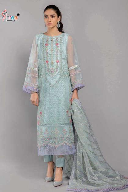 Shree Fabs Mariya B Pret Collection Salwar Suit Wholesale Catalog 4 Pcs