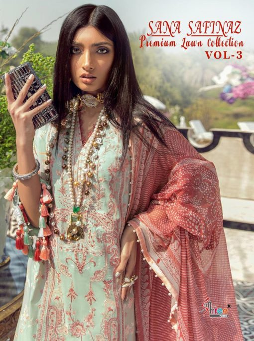 Shree Fabs Sana Safinaz Premium Lawn Collection Vol 3 Salwar Suit Wholesale Catalog 8 Pcs 1 510x684 - Shree Fabs Sana Safinaz Premium Lawn Collection Vol 3 Salwar Suit Wholesale Catalog 8 Pcs