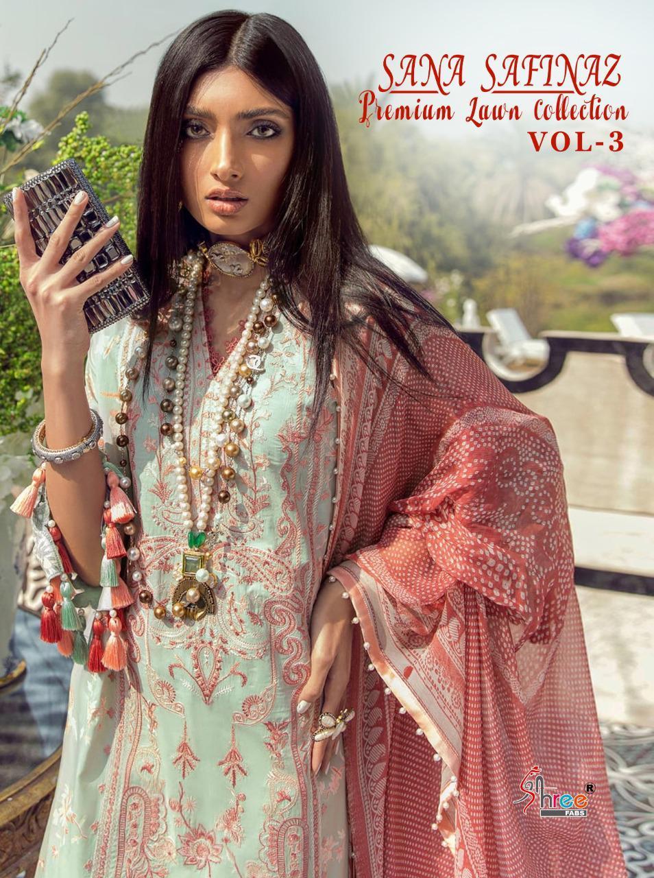Shree Fabs Sana Safinaz Premium Lawn Collection Vol 3 Salwar Suit Wholesale Catalog 8 Pcs 1 - Shree Fabs Sana Safinaz Premium Lawn Collection Vol 3 Salwar Suit Wholesale Catalog 8 Pcs