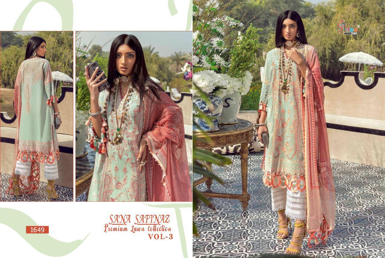 Shree Fabs Sana Safinaz Premium Lawn Collection Vol 3 Salwar Suit Wholesale Catalog 8 Pcs 12 - Shree Fabs Sana Safinaz Premium Lawn Collection Vol 3 Salwar Suit Wholesale Catalog 8 Pcs
