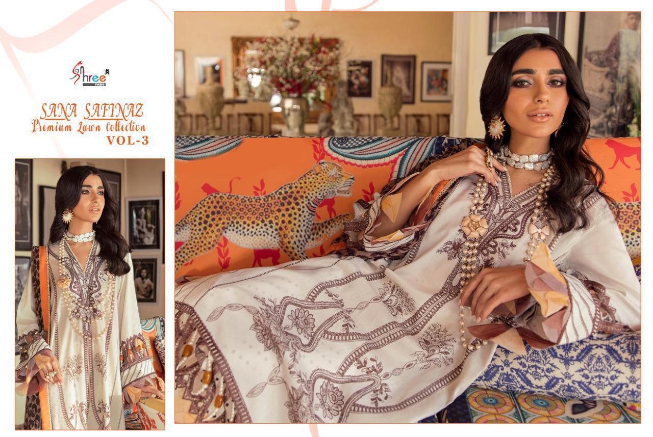 Shree Fabs Sana Safinaz Premium Lawn Collection Vol 3 Salwar Suit Wholesale Catalog 8 Pcs 14 - Shree Fabs Sana Safinaz Premium Lawn Collection Vol 3 Salwar Suit Wholesale Catalog 8 Pcs