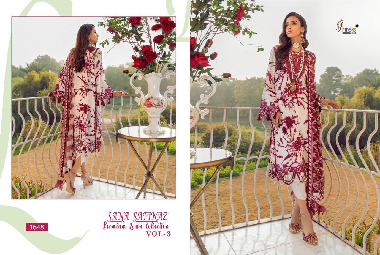 Shree Fabs Sana Safinaz Premium Lawn Collection Vol 3 Salwar Suit Wholesale Catalog 8 Pcs 3 - Shree Fabs Sana Safinaz Premium Lawn Collection Vol 3 Salwar Suit Wholesale Catalog 8 Pcs