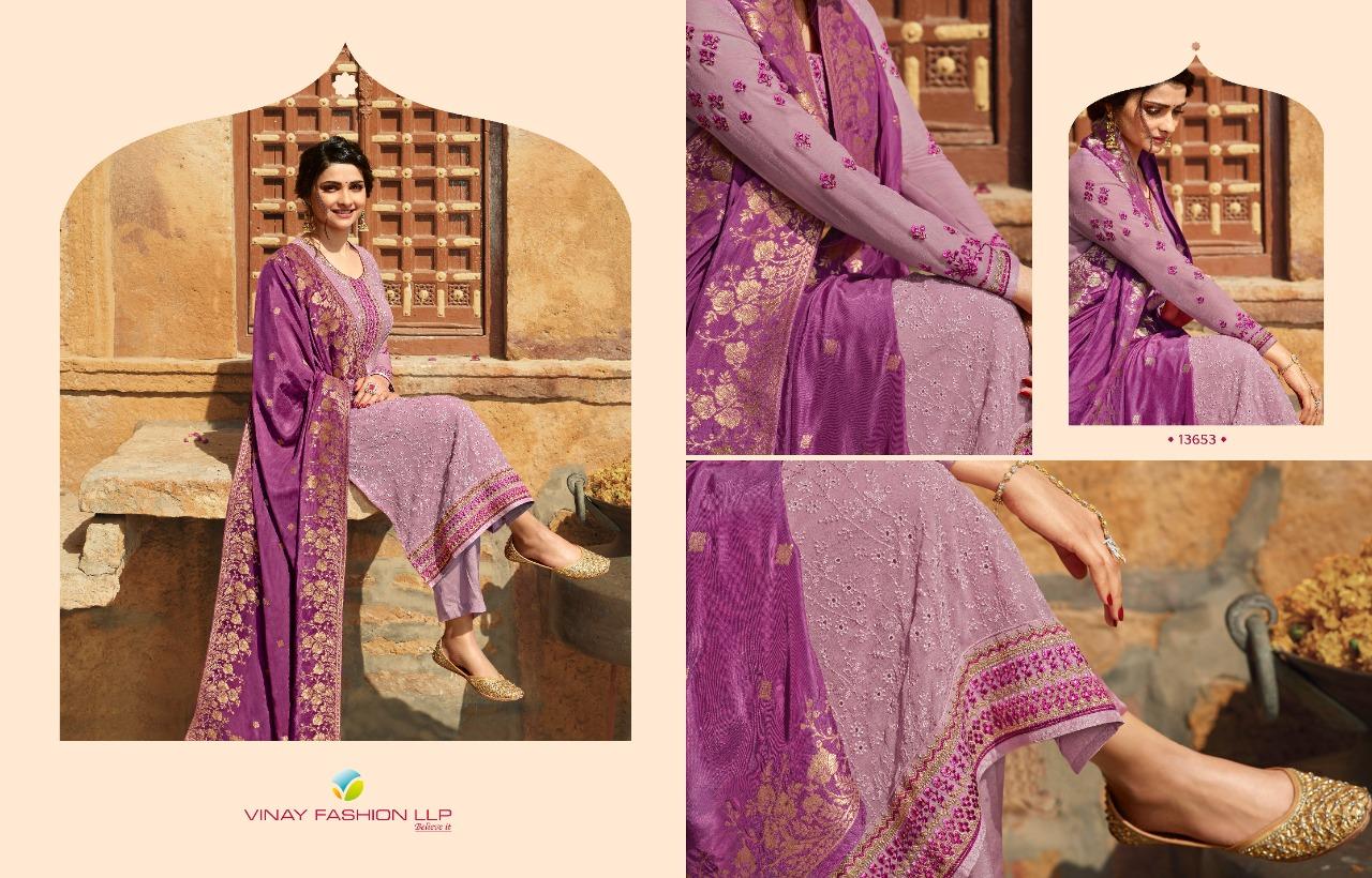 Vinay Kaseesh Moon Prachi Desai Salwar Suit Wholesale Catalog 7 Pcs 9 - Vinay Kaseesh Moon Prachi Desai Salwar Suit Wholesale Catalog 7 Pcs