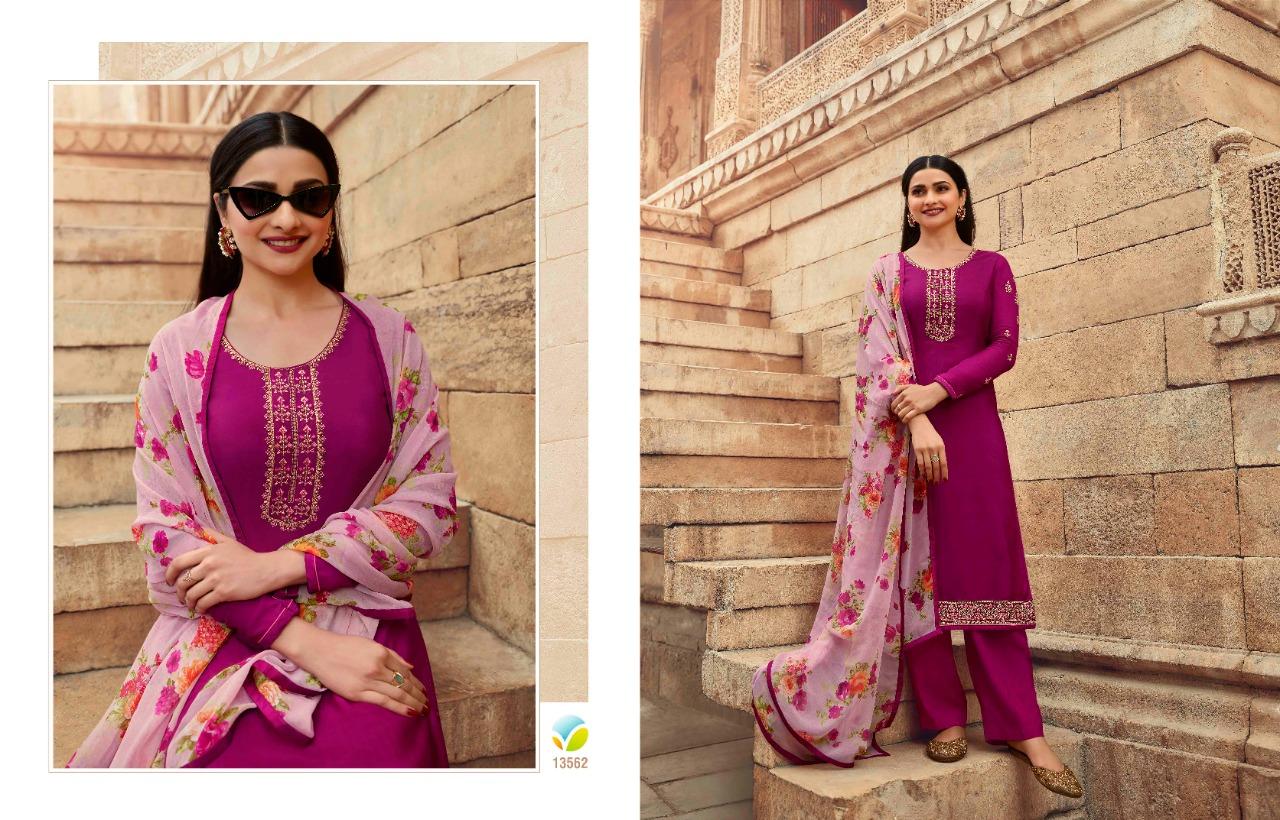 Vinay Silkina Royal Crepe Vol 30 Salwar Suit Wholesale Catalog 9 Pcs 12 - Vinay Silkina Royal Crepe Vol 30 Salwar Suit Wholesale Catalog 9 Pcs
