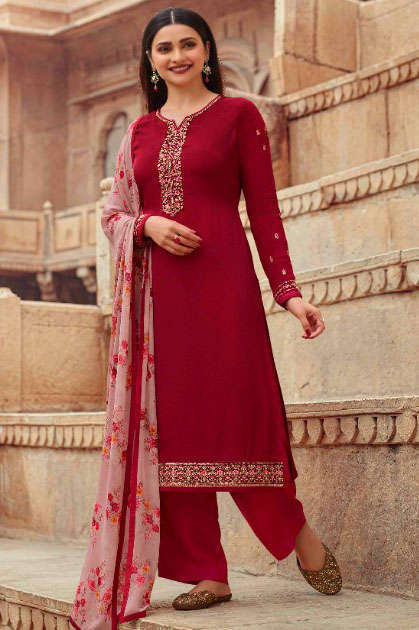 Vinay Silkina Royal Crepe Vol 30 Salwar Suit Wholesale Catalog 9 Pcs