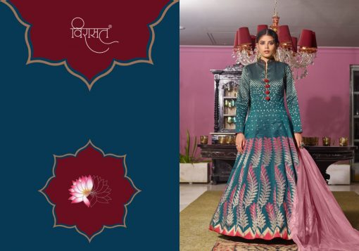 Virasat Muskan Readymade Salwar Suit Wholesale Catalog 4 Pcs 1 510x357 - Virasat Muskan Readymade Salwar Suit Wholesale Catalog 4 Pcs