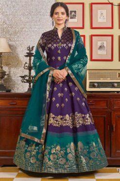 Virasat Muskan Readymade Salwar Suit Wholesale Catalog 4 Pcs