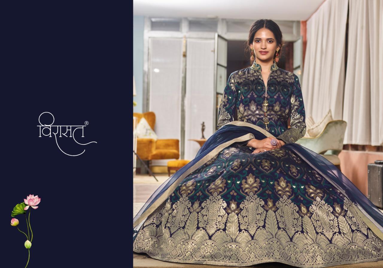 Virasat Muskan Readymade Salwar Suit Wholesale Catalog 4 Pcs 4 - Virasat Muskan Readymade Salwar Suit Wholesale Catalog 4 Pcs