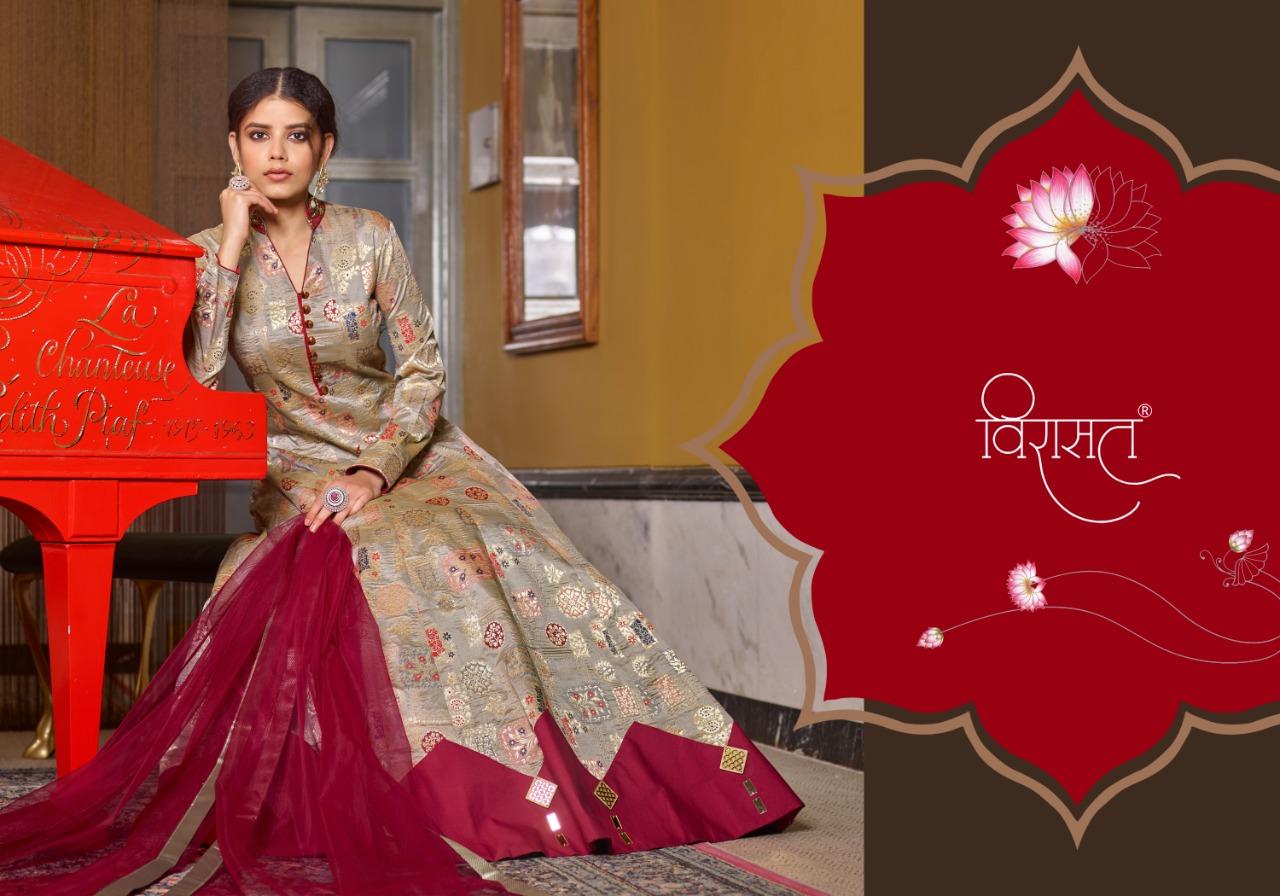 Virasat Muskan Readymade Salwar Suit Wholesale Catalog 4 Pcs 5 - Virasat Muskan Readymade Salwar Suit Wholesale Catalog 4 Pcs