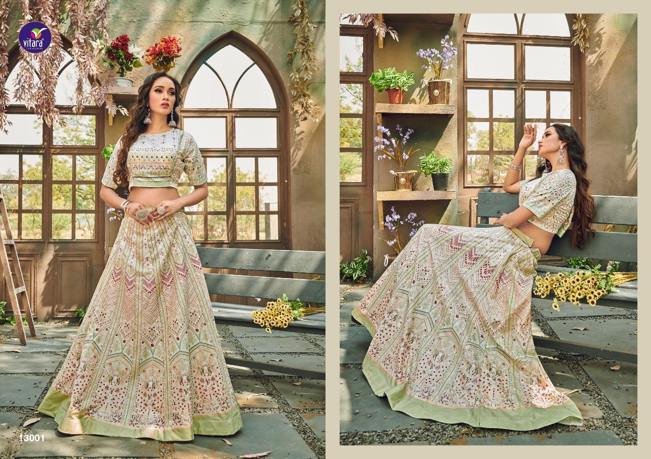 Vitara Magic Vol 13 Top with Skirt Wholesale Catalog 2 Pcs 2 - Vitara Magic Vol 13 Top with Skirt Wholesale Catalog 2 Pcs