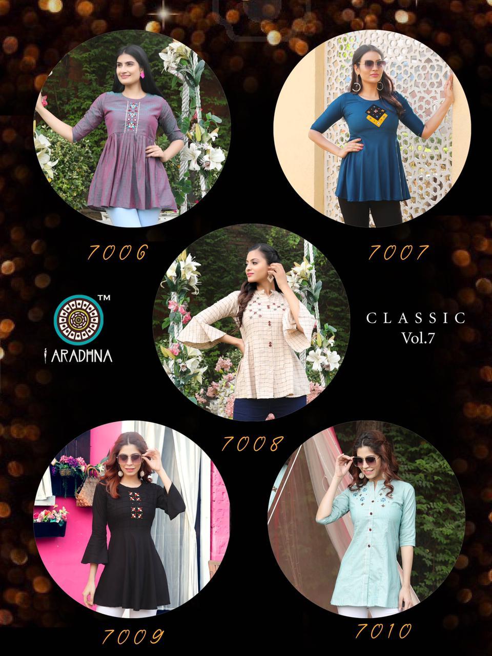 Aradhna Classic Vol 7 Tops Wholesale Catalog 10 Pcs 17 - Aradhna Classic Vol 7 Tops Wholesale Catalog 10 Pcs