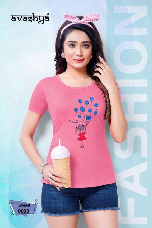 Avashya Retro Solids T Shirt Wholesale Catalog 10 Pcs 7 510x765 - Avashya Retro Solids T-Shirt Wholesale Catalog 10 Pcs