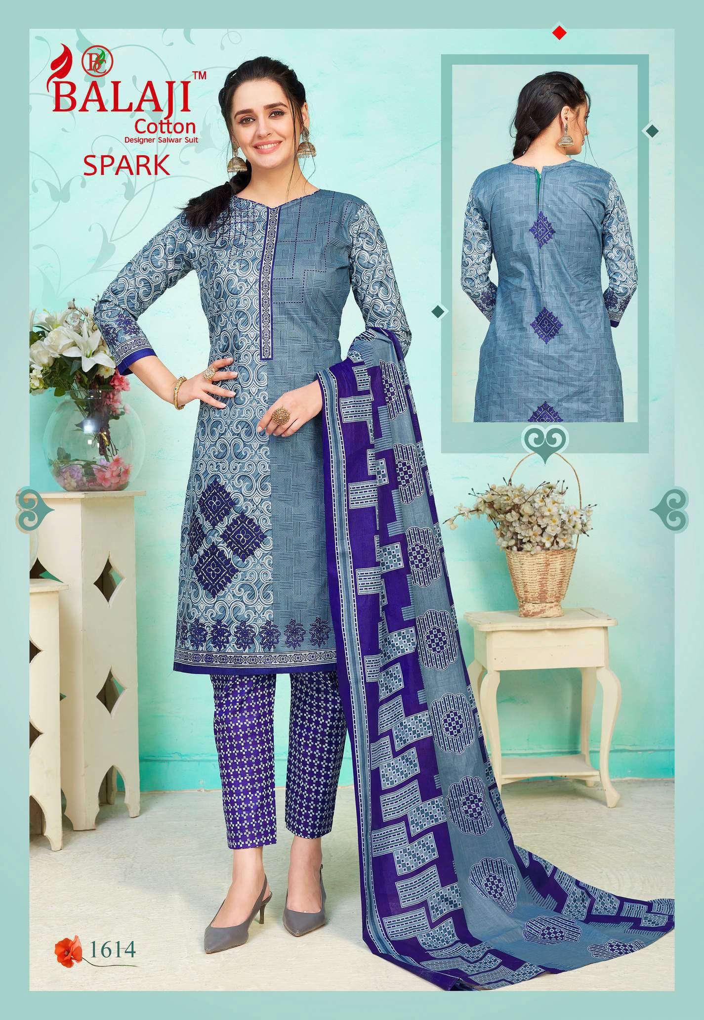 Balaji Cotton Spark Vol 16 Salwar Suit Wholesale Catalog 16 Pcs 14 - Balaji Cotton Spark Vol 16 Salwar Suit Wholesale Catalog 16 Pcs