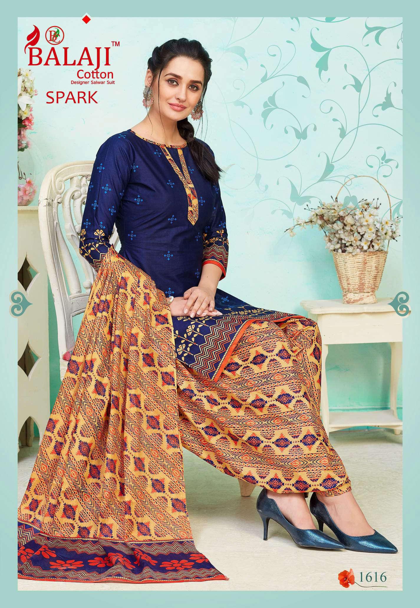 Balaji Cotton Spark Vol 16 Salwar Suit Wholesale Catalog 16 Pcs 16 - Balaji Cotton Spark Vol 16 Salwar Suit Wholesale Catalog 16 Pcs