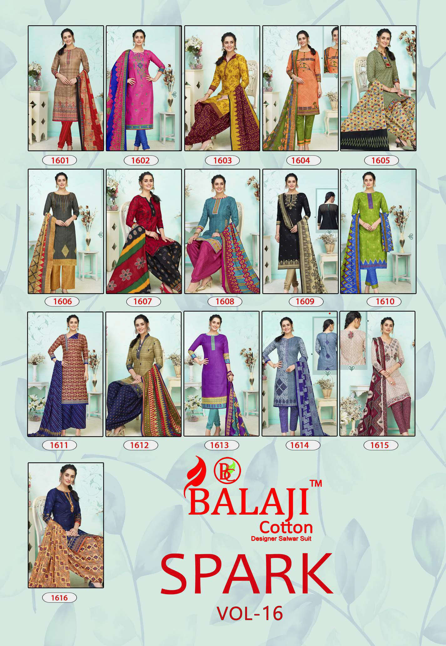 Balaji Cotton Spark Vol 16 Salwar Suit Wholesale Catalog 16 Pcs 17 - Balaji Cotton Spark Vol 16 Salwar Suit Wholesale Catalog 16 Pcs
