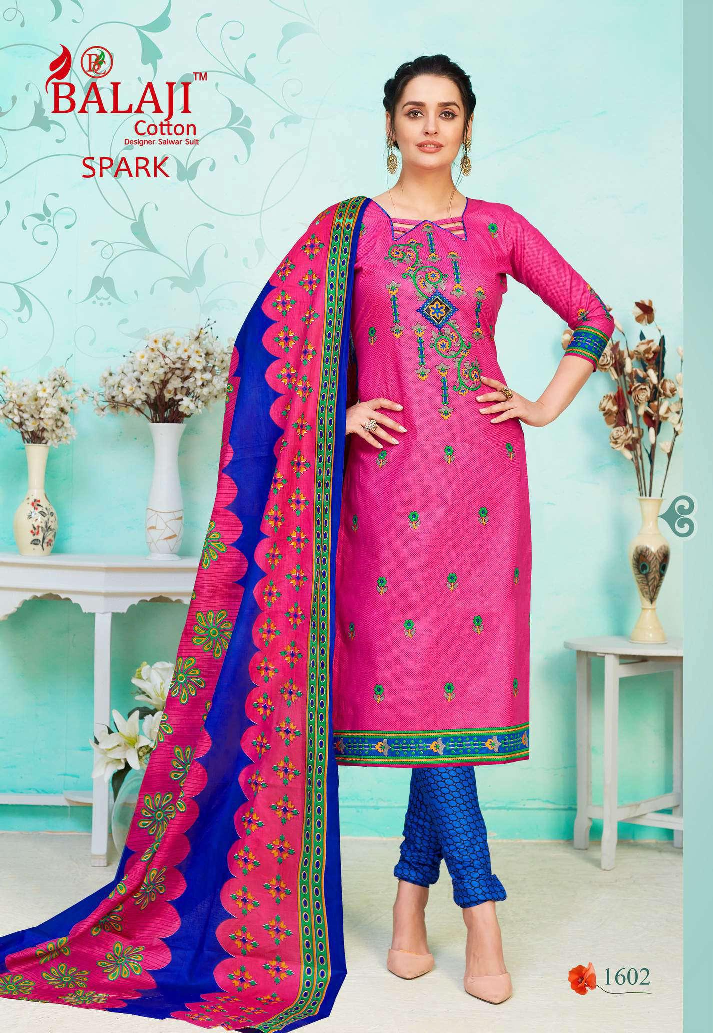 Balaji Cotton Spark Vol 16 Salwar Suit Wholesale Catalog 16 Pcs 2 - Balaji Cotton Spark Vol 16 Salwar Suit Wholesale Catalog 16 Pcs