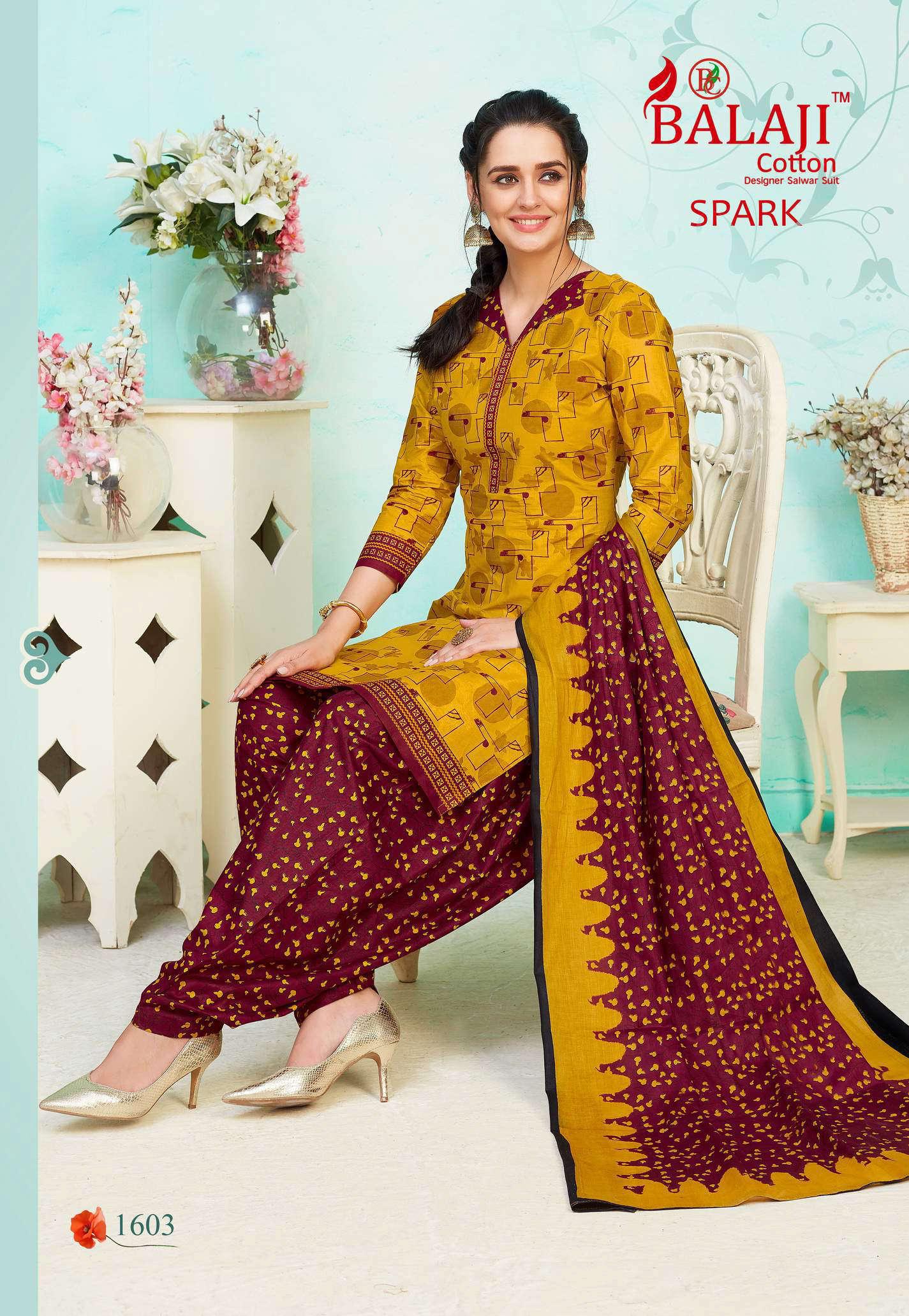 Balaji Cotton Spark Vol 16 Salwar Suit Wholesale Catalog 16 Pcs 3 - Balaji Cotton Spark Vol 16 Salwar Suit Wholesale Catalog 16 Pcs