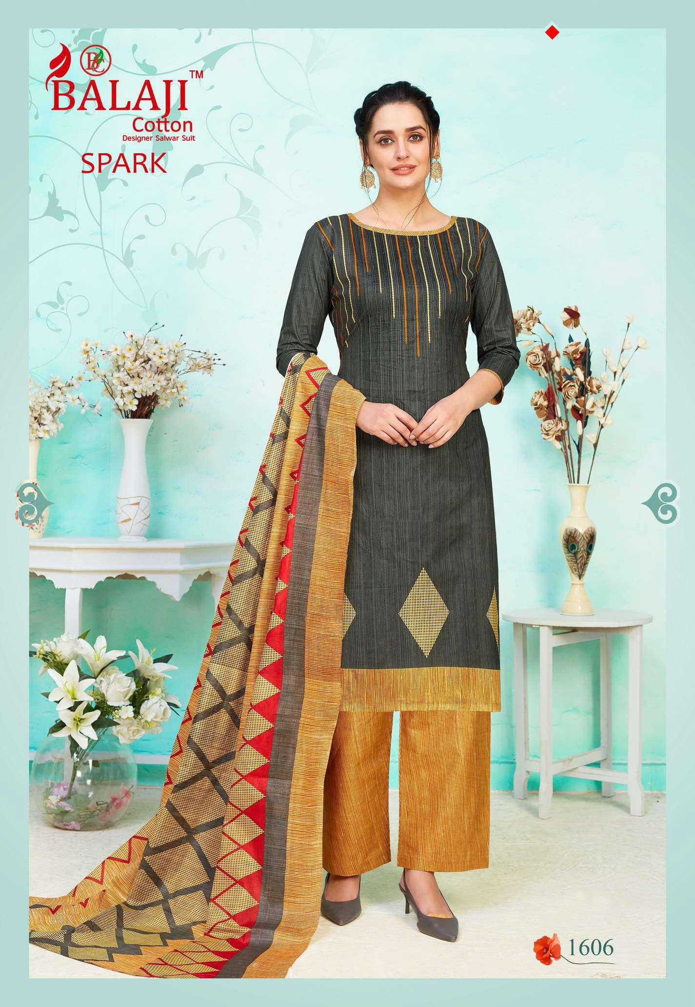 Balaji Cotton Spark Vol 16 Salwar Suit Wholesale Catalog 16 Pcs 6 - Balaji Cotton Spark Vol 16 Salwar Suit Wholesale Catalog 16 Pcs