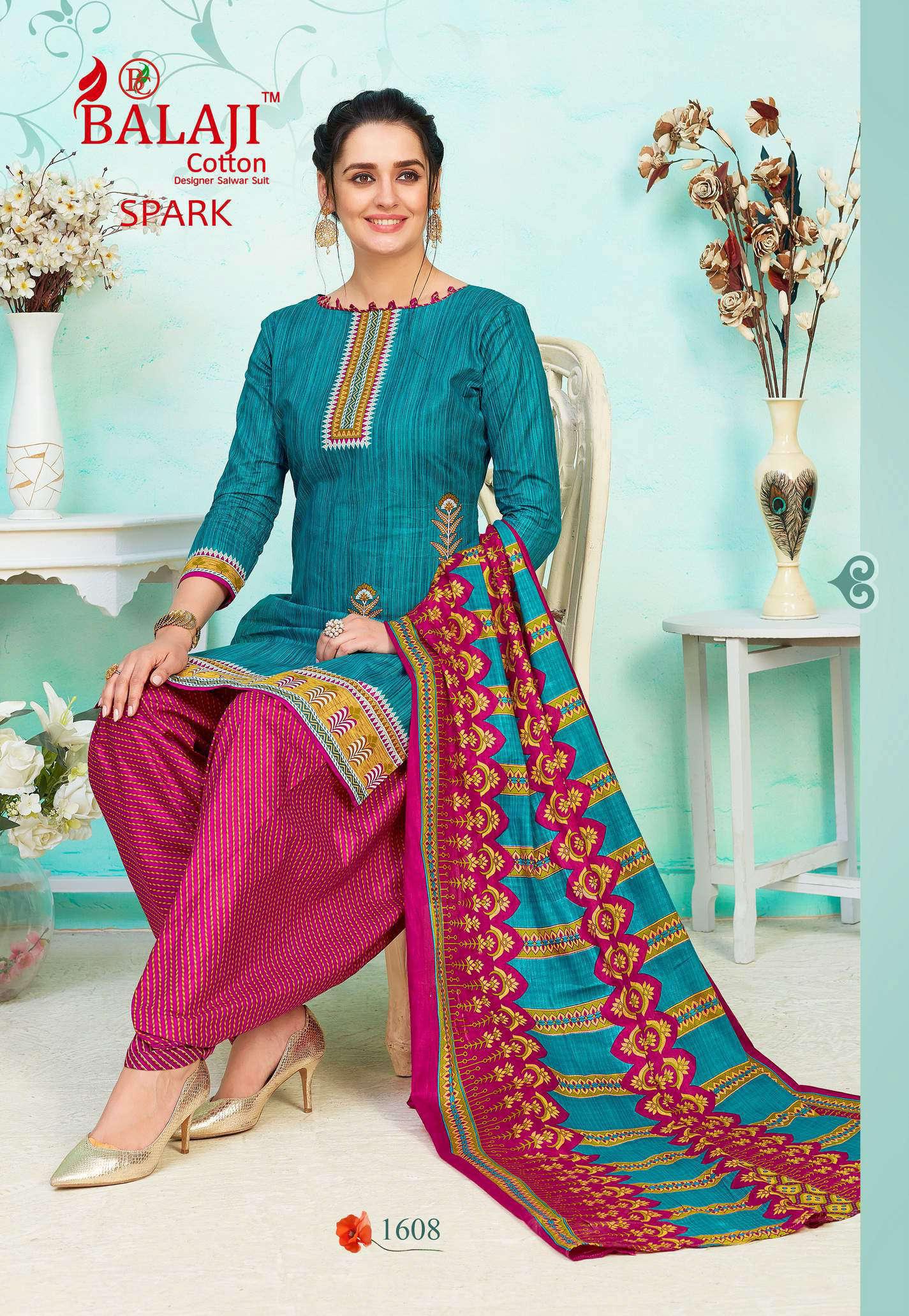 Balaji Cotton Spark Vol 16 Salwar Suit Wholesale Catalog 16 Pcs 8 - Balaji Cotton Spark Vol 16 Salwar Suit Wholesale Catalog 16 Pcs