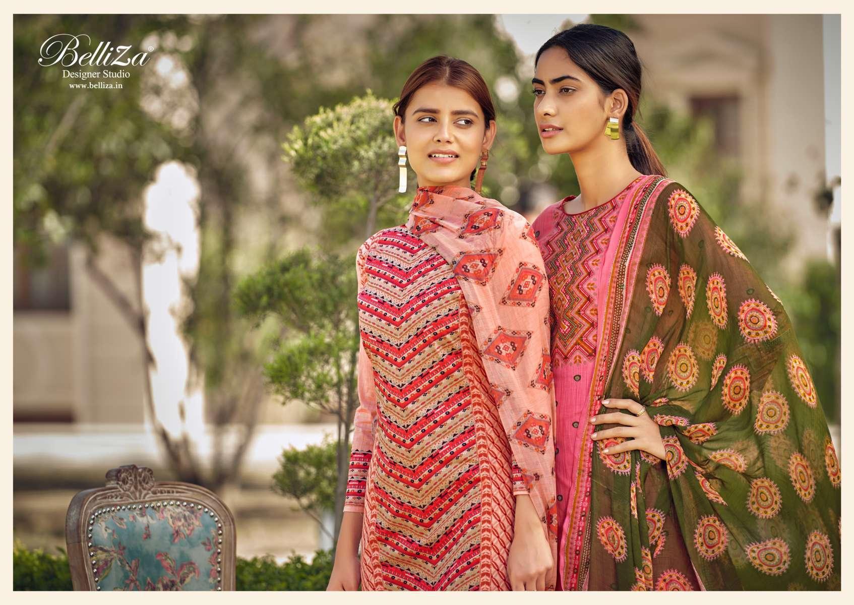 Belliza Melisa Salwar Suit Wholesale Catalog 8 Pcs 6 - Belliza Melisa Salwar Suit Wholesale Catalog 8 Pcs