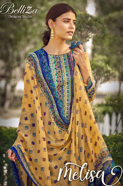 Belliza Melisa Salwar Suit Wholesale Catalog 8 Pcs