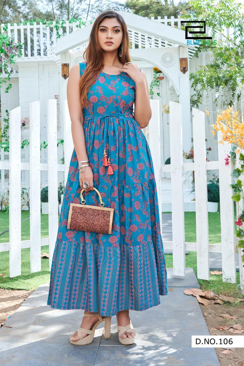 Blue Hills Sun Shine Nx Kurti Wholesale Catalog 6 Pcs 6 - Blue Hills Sun Shine Nx Kurti Wholesale Catalog 6 Pcs
