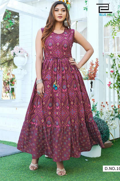 Blue Hills Sun Shine Nx Kurti Wholesale Catalog 6 Pcs - Blue Hills Sun Shine Nx Kurti Wholesale Catalog 6 Pcs