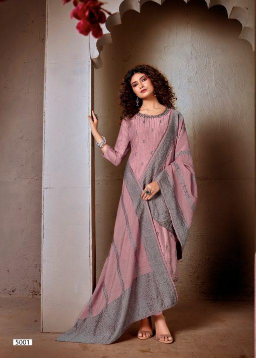 Brij Kora Vol 5 Salwar Suit Wholesale Catalog 8 Pcs 11 510x714 - Brij Kora Vol 5 Salwar Suit Wholesale Catalog 8 Pcs