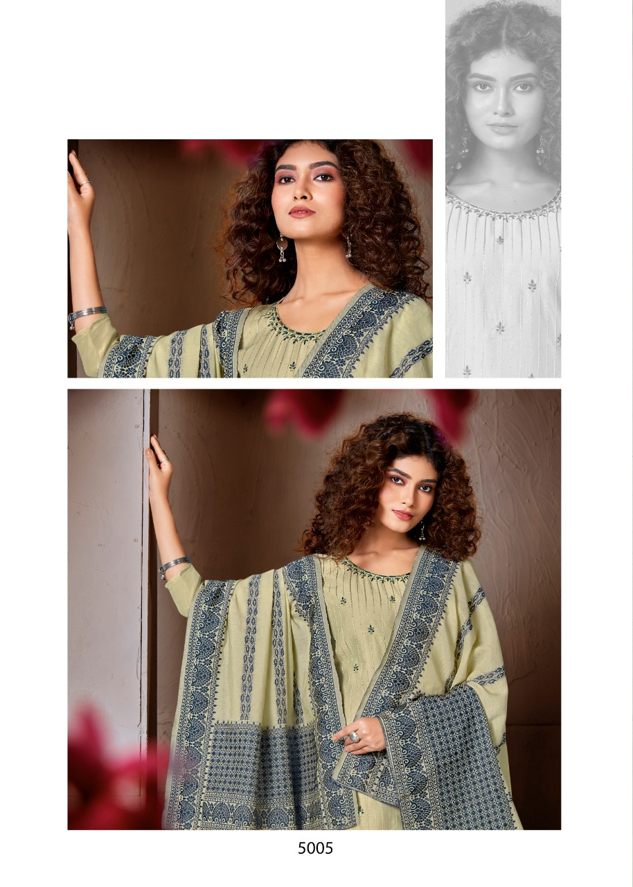 Brij Kora Vol 5 Salwar Suit Wholesale Catalog 8 Pcs 15 - Brij Kora Vol 5 Salwar Suit Wholesale Catalog 8 Pcs