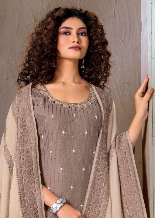 Brij Kora Vol 5 Salwar Suit Wholesale Catalog 8 Pcs 17 510x714 - Brij Kora Vol 5 Salwar Suit Wholesale Catalog 8 Pcs