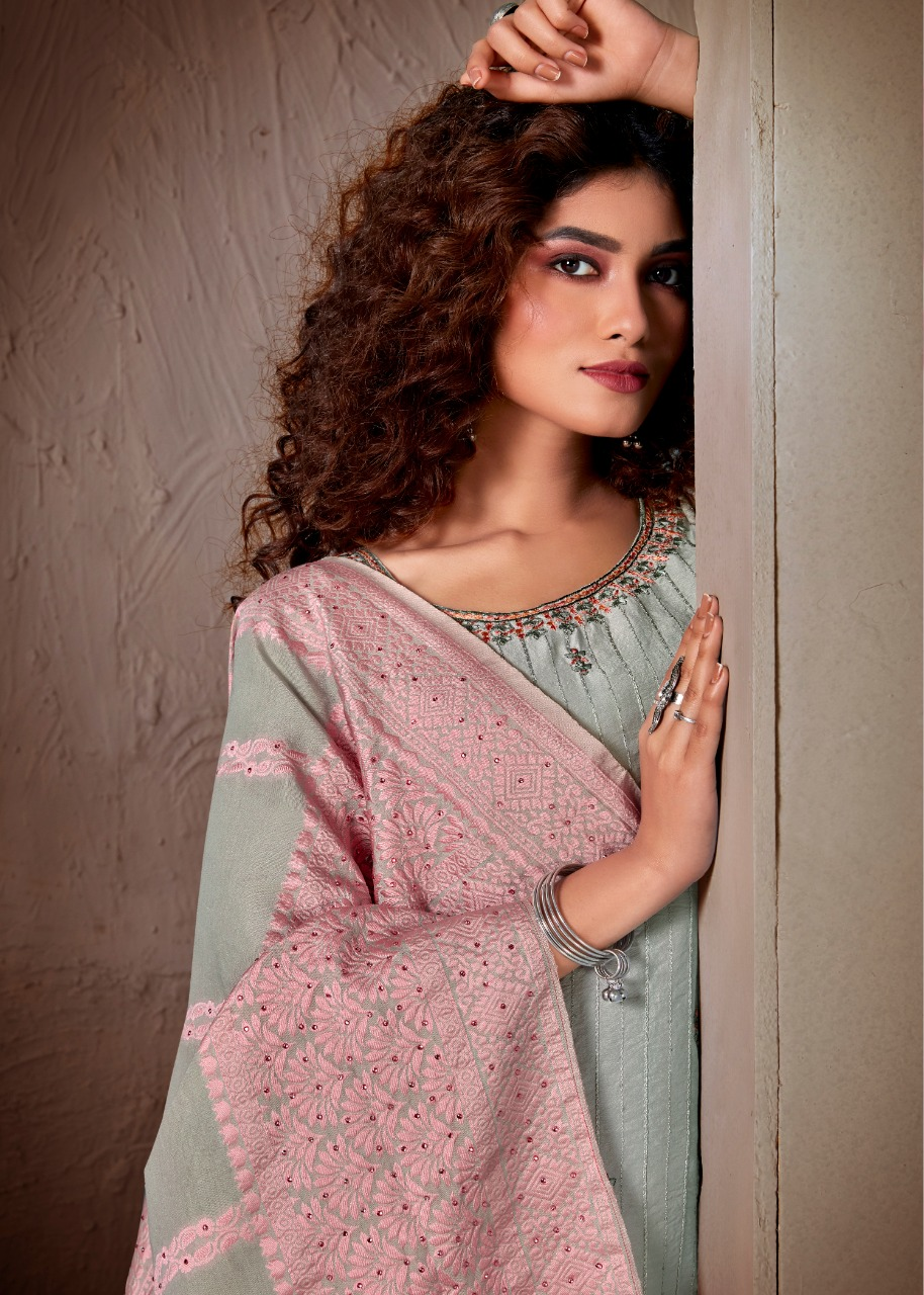 Brij Kora Vol 5 Salwar Suit Wholesale Catalog 8 Pcs 18 - Brij Kora Vol 5 Salwar Suit Wholesale Catalog 8 Pcs