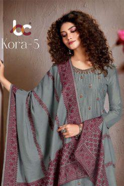 Brij Kora Vol 5 Salwar Suit Wholesale Catalog 8 Pcs