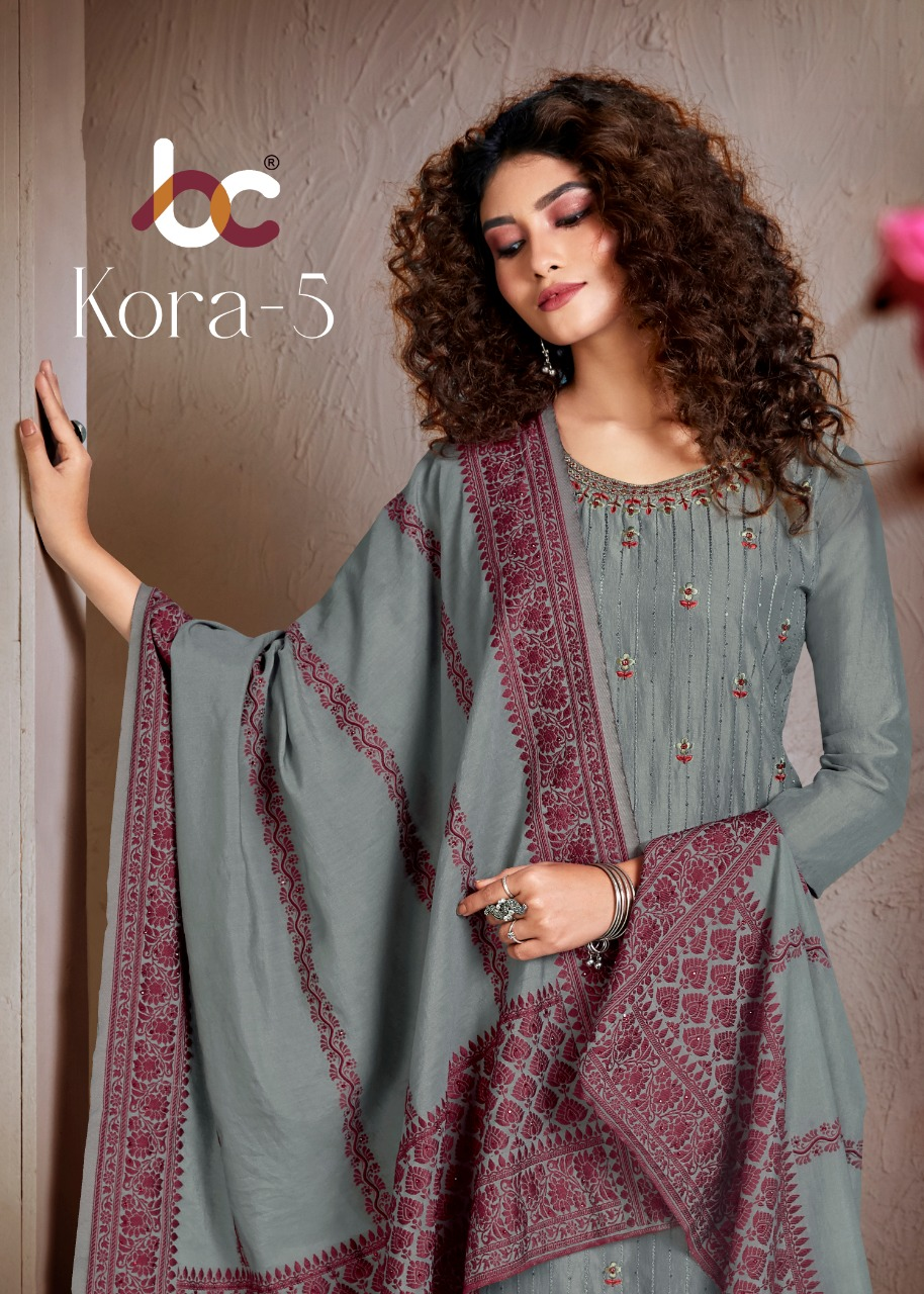 Brij Kora Vol 5 Salwar Suit Wholesale Catalog 8 Pcs 6 - Brij Kora Vol 5 Salwar Suit Wholesale Catalog 8 Pcs
