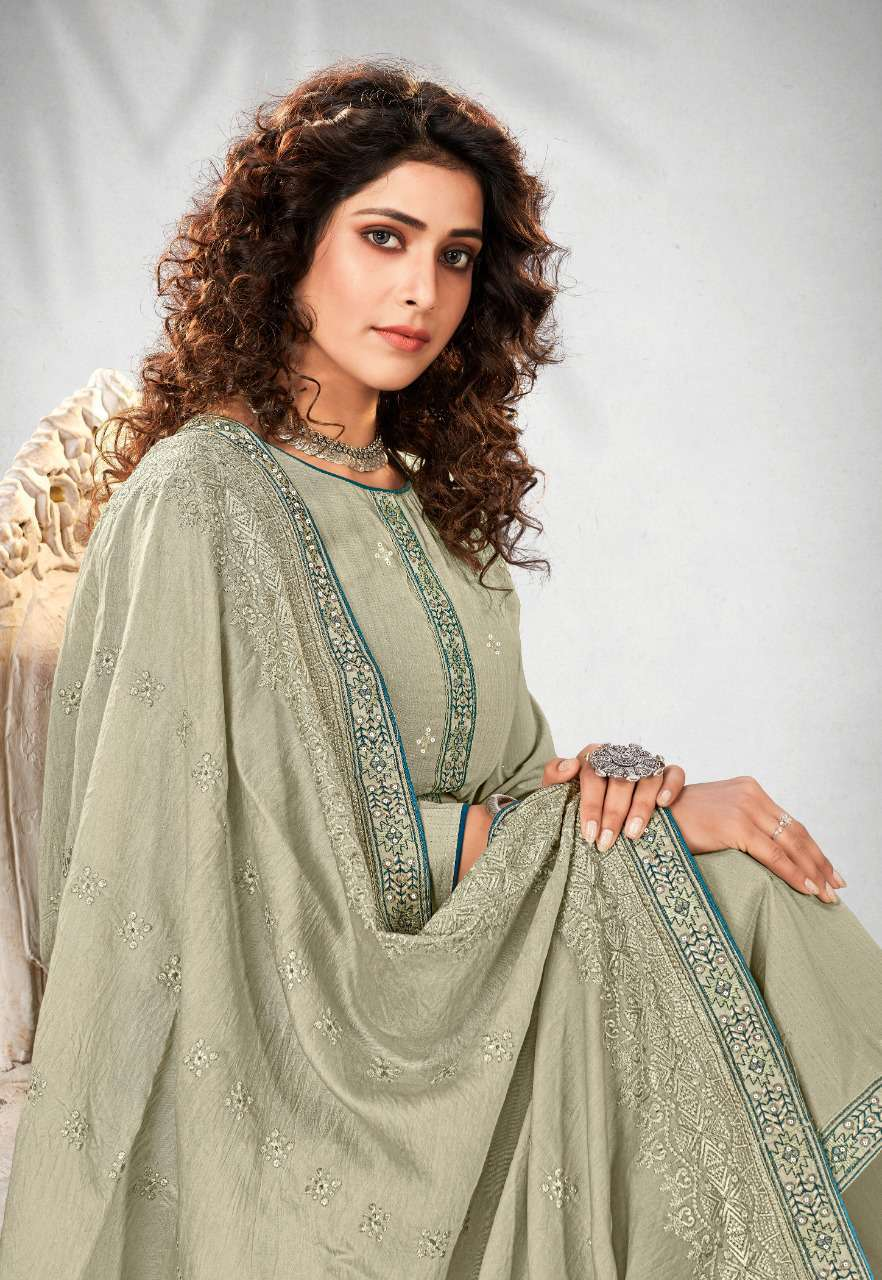 Brij Shiza Salwar Suit Wholesale Catalog 8 Pcs 13 - Brij Shiza Salwar Suit Wholesale Catalog 8 Pcs