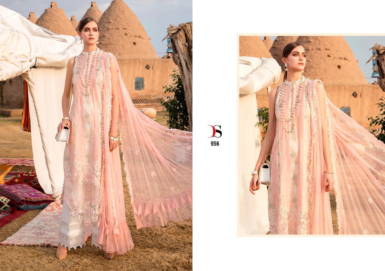 Deepsy Maria B Lawn 21 Vol 2 Salwar Suit Wholesale Catalog 8 Pcs 2 - Deepsy Maria B Lawn 21 Vol 2 Salwar Suit Wholesale Catalog 8 Pcs