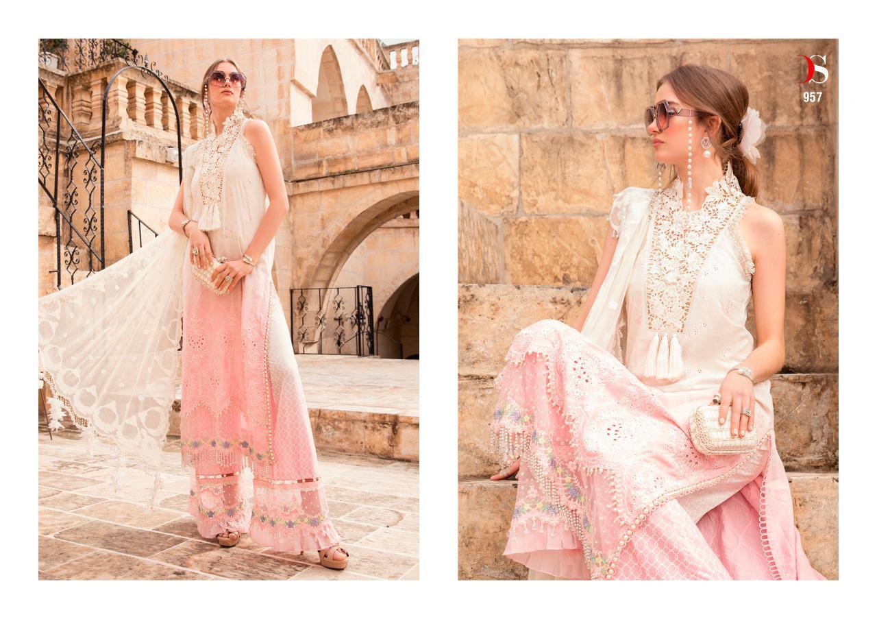 Deepsy Maria B Lawn 21 Vol 2 Salwar Suit Wholesale Catalog 8 Pcs 8 - Deepsy Maria B Lawn 21 Vol 2 Salwar Suit Wholesale Catalog 8 Pcs