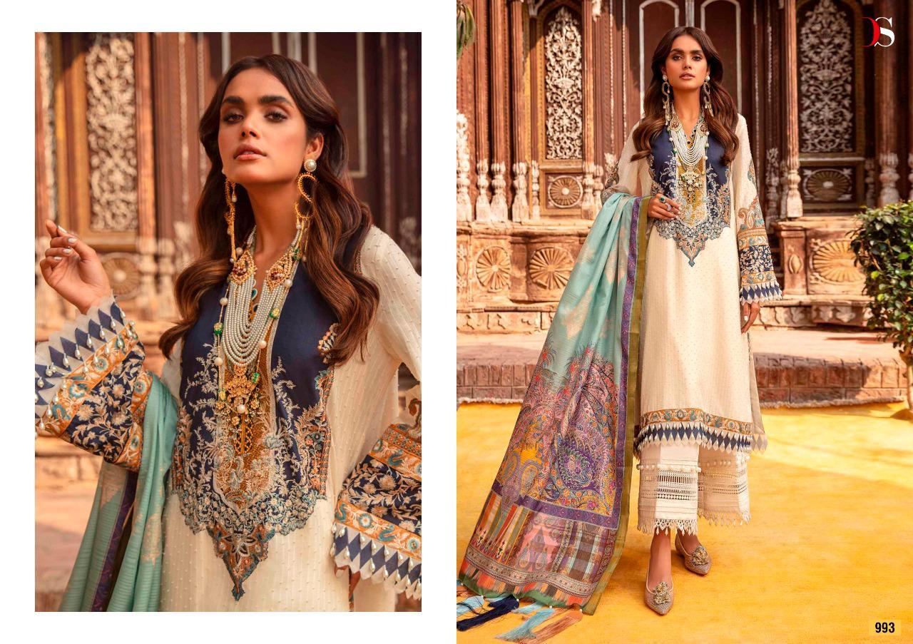 Deepsy Sana Safinaz Lawn 21 Vol 2 Salwar Suit Wholesale Catalog 6 Pcs 4 - Deepsy Sana Safinaz Lawn 21 Vol 2 Salwar Suit Wholesale Catalog 6 Pcs