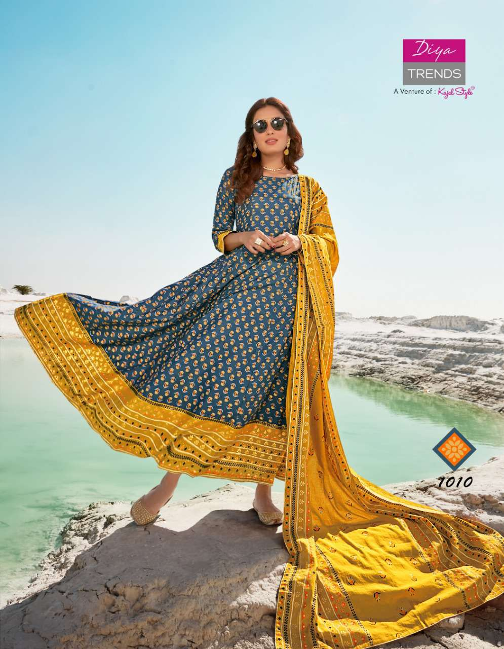 Diya Trends Dupatta House Vol 1 by Kajal Style Kurti with Dupatta Bottom Wholesale Catalog 10 Pcs 4 - Diya Trends Dupatta House Vol 1 by Kajal Style Kurti with Dupatta Bottom Wholesale Catalog 10 Pcs
