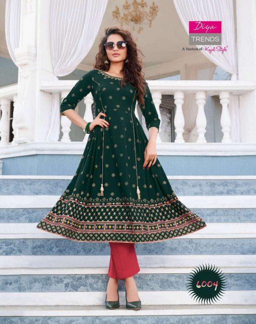 Diya Trends Ethnicity Vol 6 by Kajal Style Kurti Wholesale Catalog 10 Pcs 6 510x646 - Diya Trends Ethnicity Vol 6 by Kajal Style Kurti Wholesale Catalog 10 Pcs
