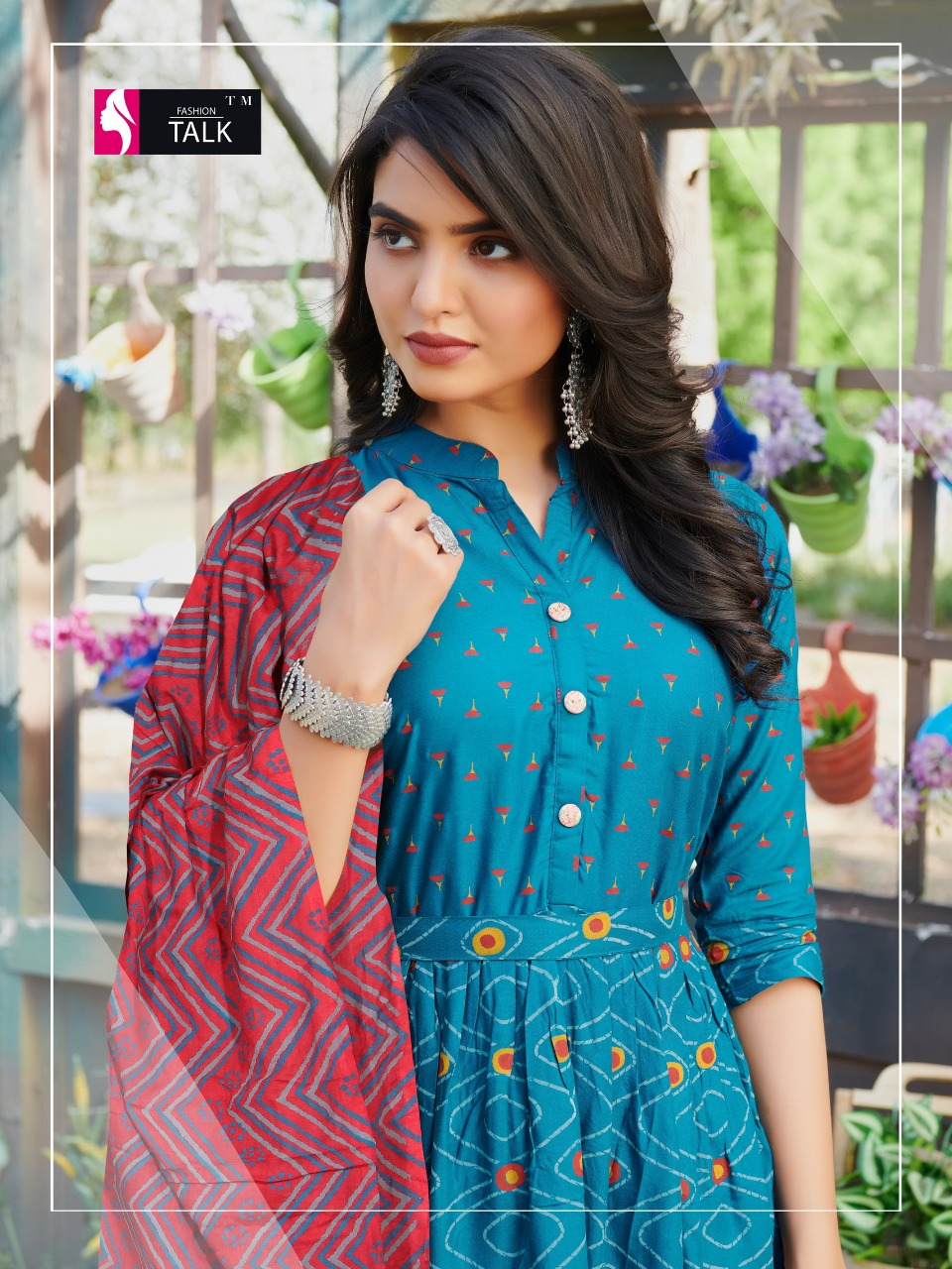 Fashion Talk Cocktail Vol 1 Kurti with Dupatta Wholesale Catalog 8 Pcs 1 - Fashion Talk Cocktail Vol 1 Kurti with Dupatta Wholesale Catalog 8 Pcs