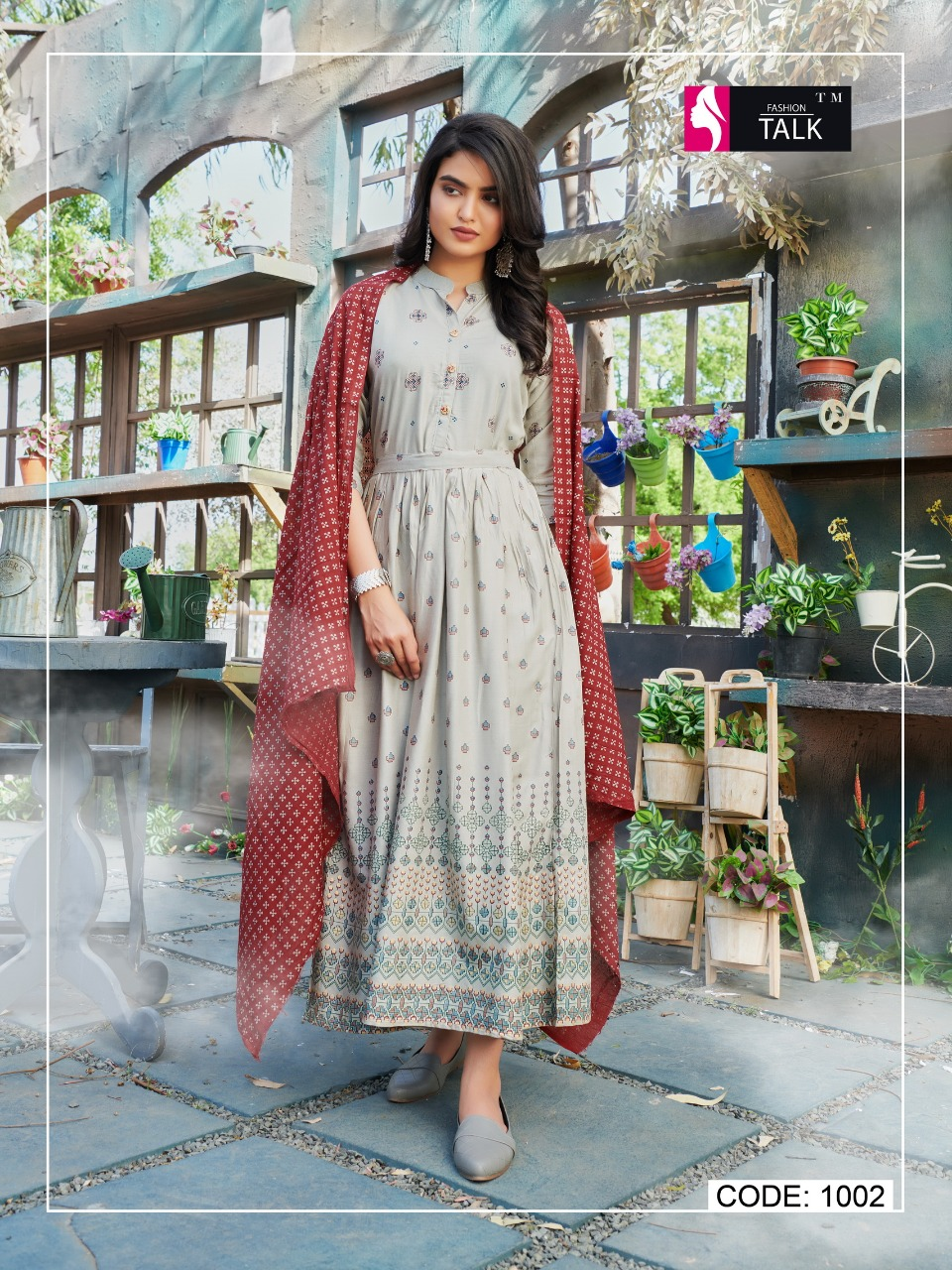 Fashion Talk Cocktail Vol 1 Kurti with Dupatta Wholesale Catalog 8 Pcs 13 - Fashion Talk Cocktail Vol 1 Kurti with Dupatta Wholesale Catalog 8 Pcs