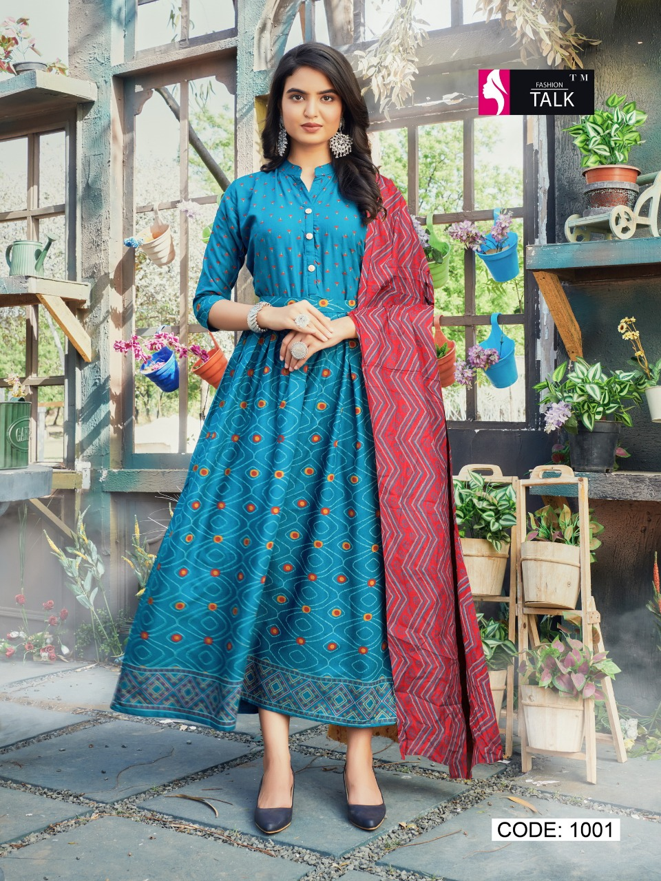 Fashion Talk Cocktail Vol 1 Kurti with Dupatta Wholesale Catalog 8 Pcs 16 - Fashion Talk Cocktail Vol 1 Kurti with Dupatta Wholesale Catalog 8 Pcs