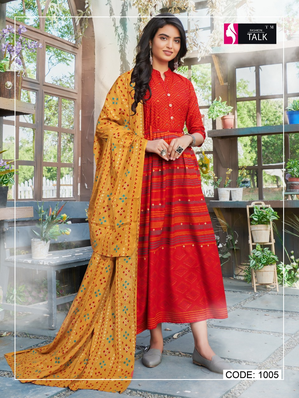 Fashion Talk Cocktail Vol 1 Kurti with Dupatta Wholesale Catalog 8 Pcs 17 - Fashion Talk Cocktail Vol 1 Kurti with Dupatta Wholesale Catalog 8 Pcs