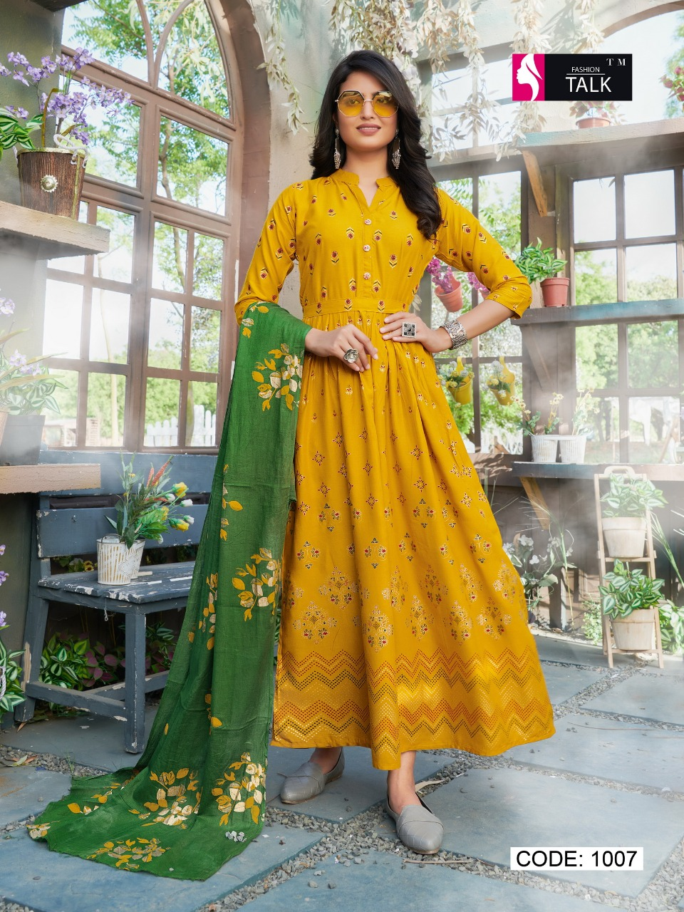 Fashion Talk Cocktail Vol 1 Kurti with Dupatta Wholesale Catalog 8 Pcs 18 - Fashion Talk Cocktail Vol 1 Kurti with Dupatta Wholesale Catalog 8 Pcs