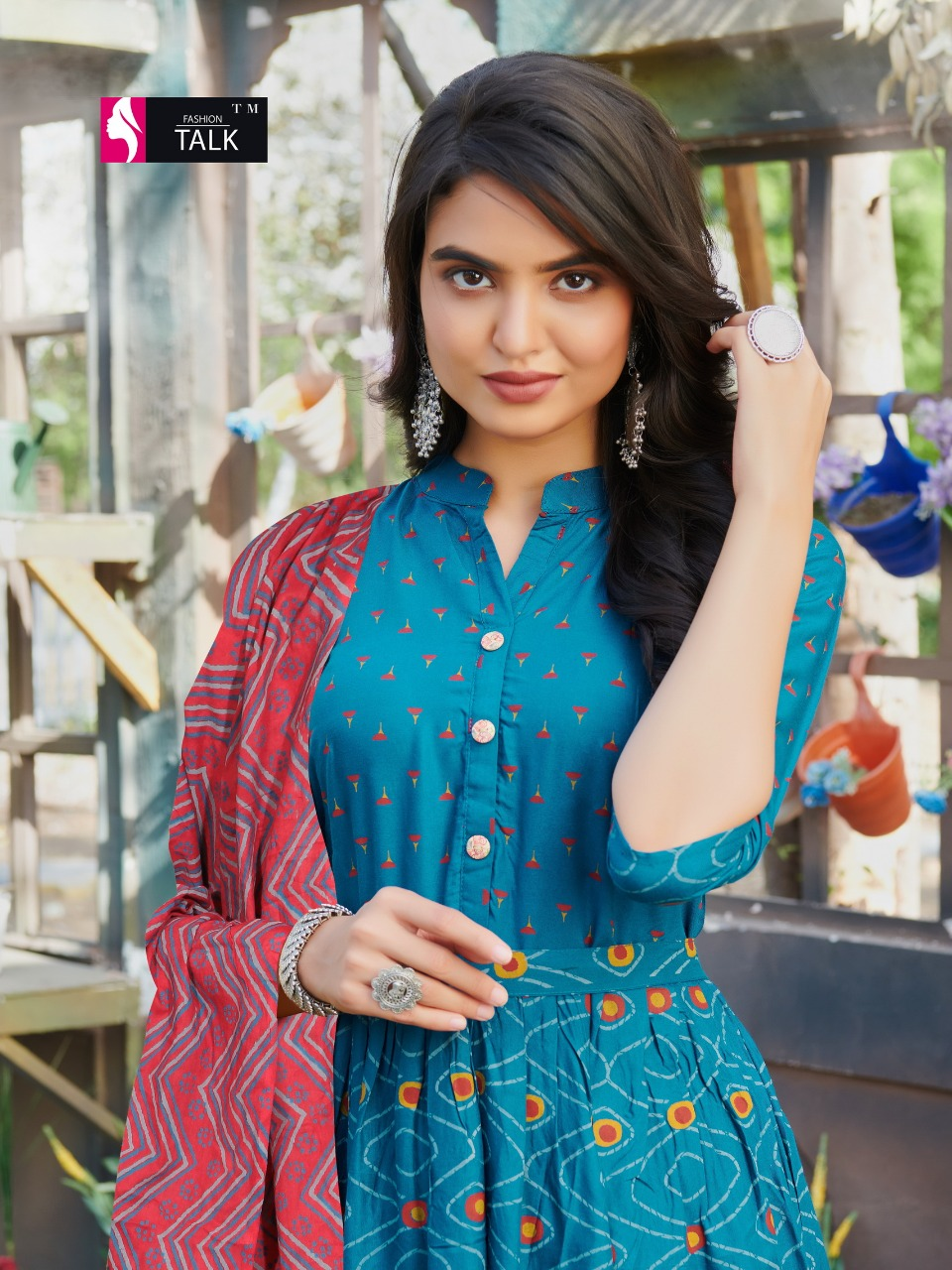 Fashion Talk Cocktail Vol 1 Kurti with Dupatta Wholesale Catalog 8 Pcs 19 - Fashion Talk Cocktail Vol 1 Kurti with Dupatta Wholesale Catalog 8 Pcs