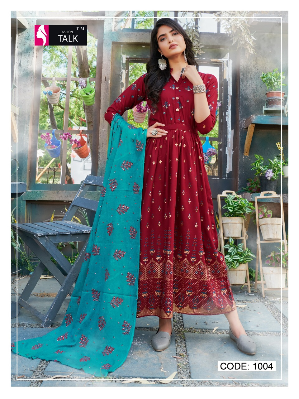 Fashion Talk Cocktail Vol 1 Kurti with Dupatta Wholesale Catalog 8 Pcs 2 - Fashion Talk Cocktail Vol 1 Kurti with Dupatta Wholesale Catalog 8 Pcs