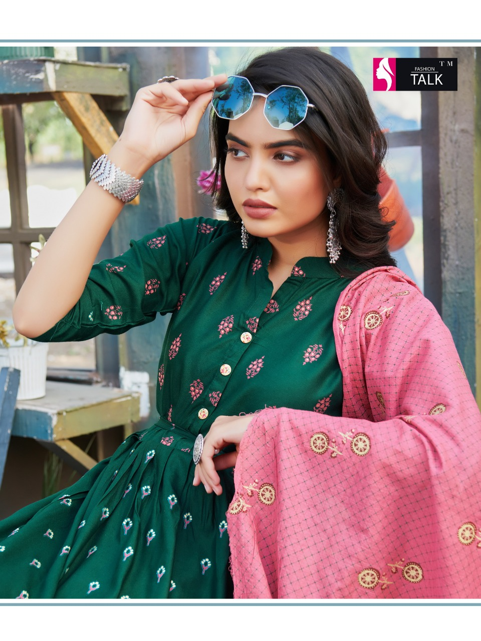Fashion Talk Cocktail Vol 1 Kurti with Dupatta Wholesale Catalog 8 Pcs 4 - Fashion Talk Cocktail Vol 1 Kurti with Dupatta Wholesale Catalog 8 Pcs