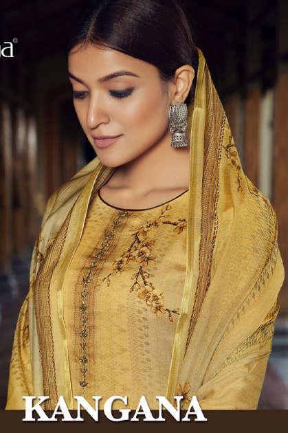 Fiona Kangana Salwar Suit Wholesale Catalog 7 Pcs