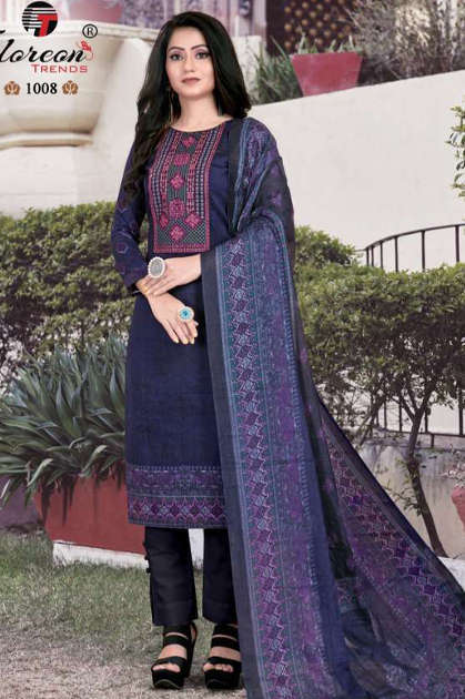 Floreon Trends Alisha Salwar Suit Wholesale Catalog 8 Pcs