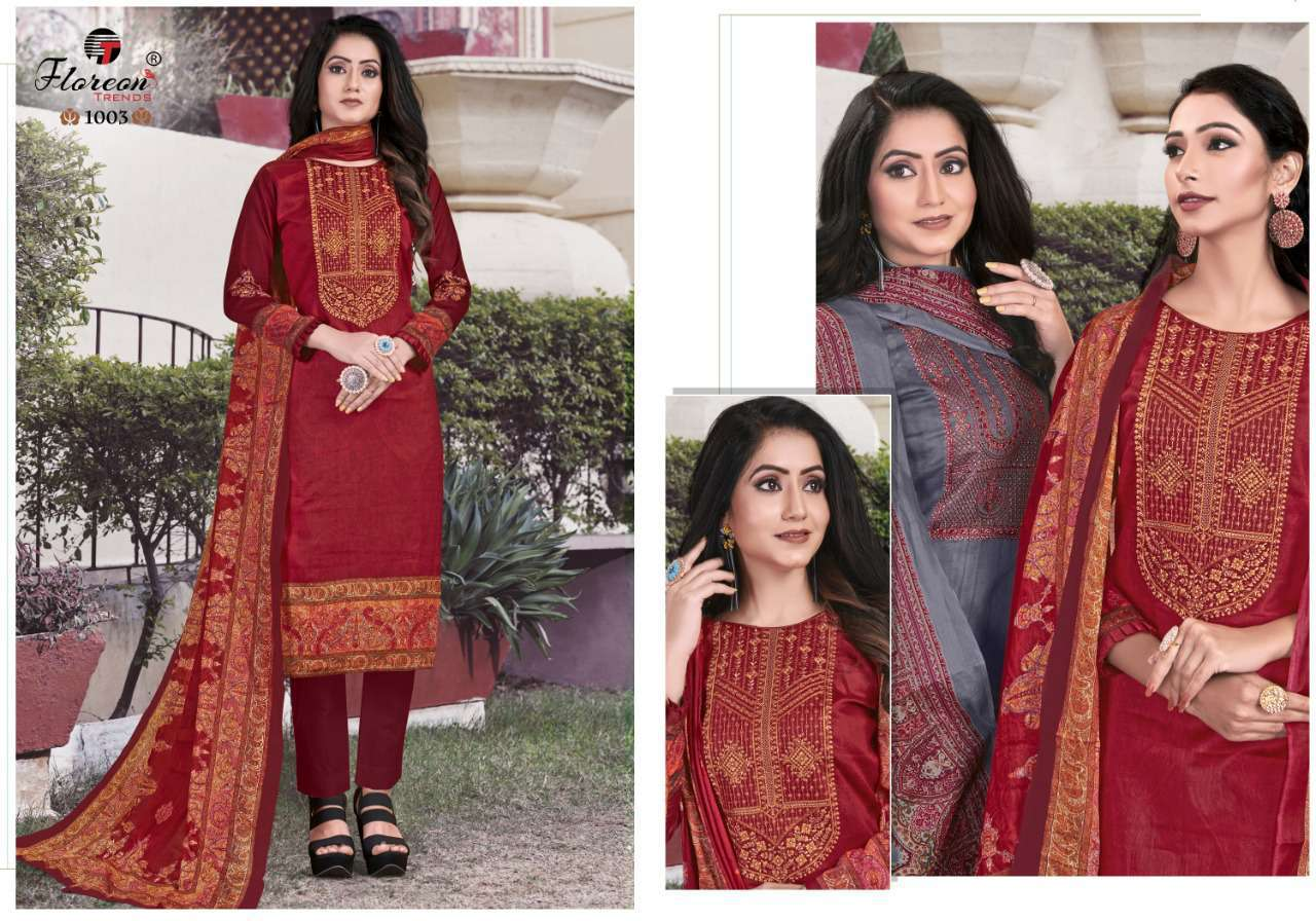 Floreon Trends Alisha Salwar Suit Wholesale Catalog 8 Pcs 3 - Floreon Trends Alisha Salwar Suit Wholesale Catalog 8 Pcs